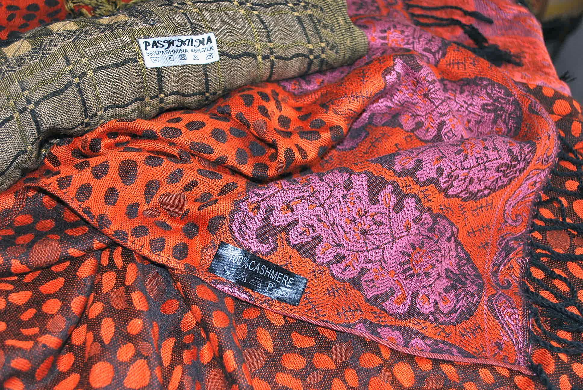 Pashmina Afghanistan Fabric