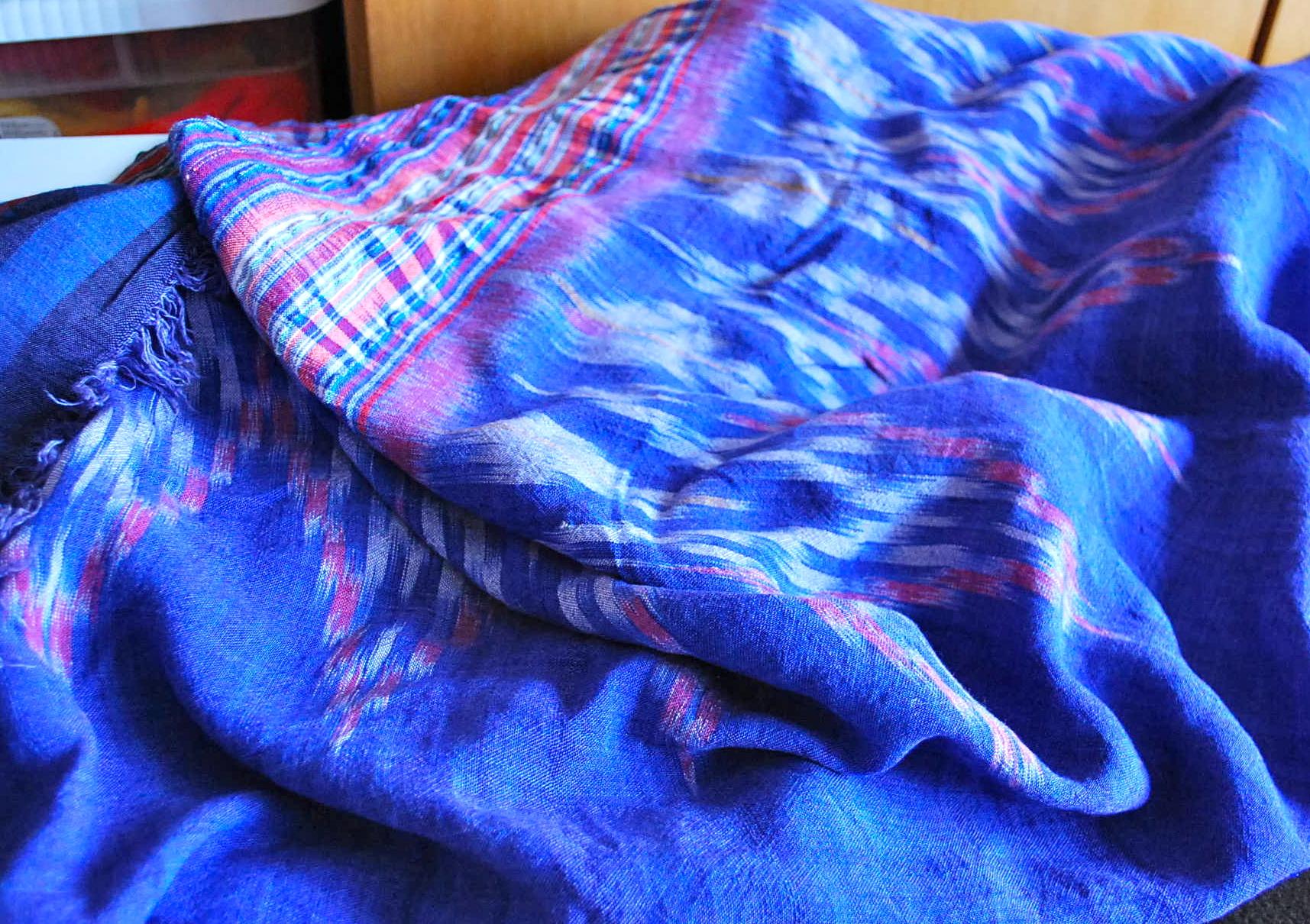 IKAT Fabric Hand woven Bali
