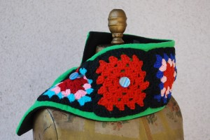 Knit Square Scarf
