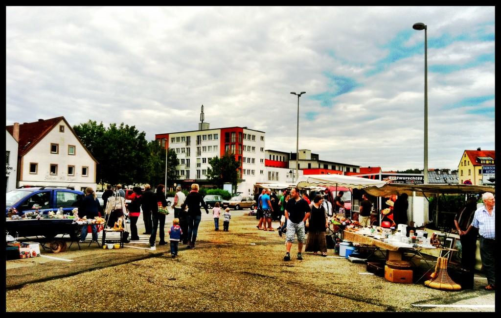 Ansbach Trödelmarkt