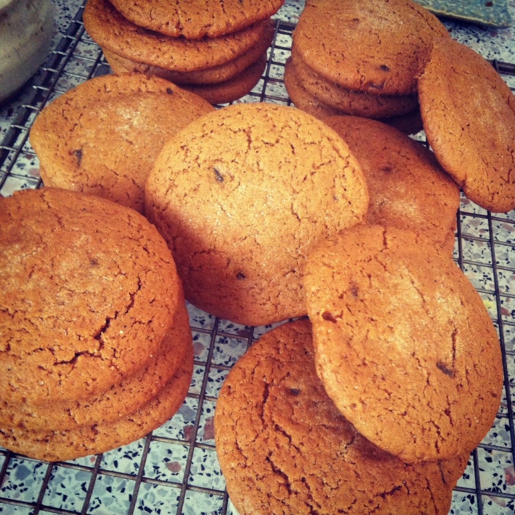 Ginger Three Times Cookies