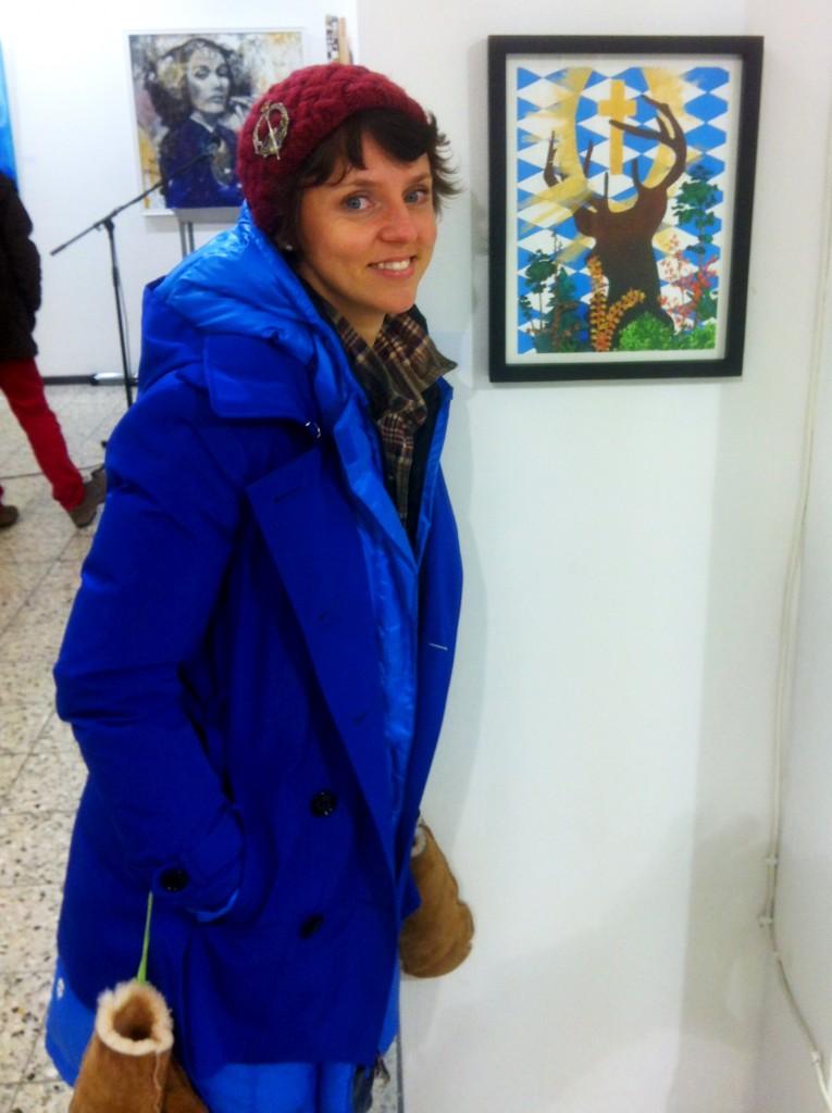 Sarah Geraci and Painting