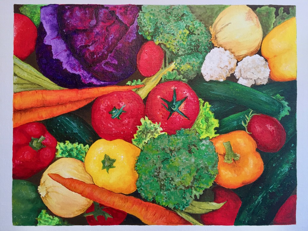 Painted Veggies