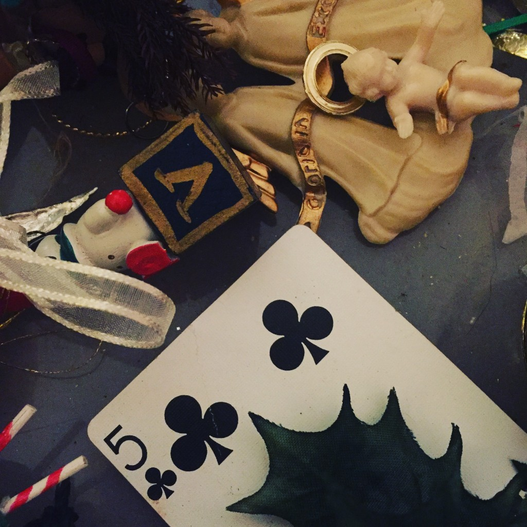Christmas Five of Clubs