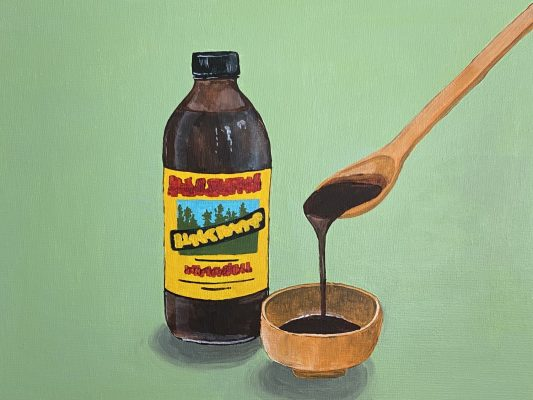 A painting of Molasses